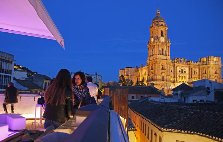 Las Mejores Terrazas De Málaga Destinos Alucinantes